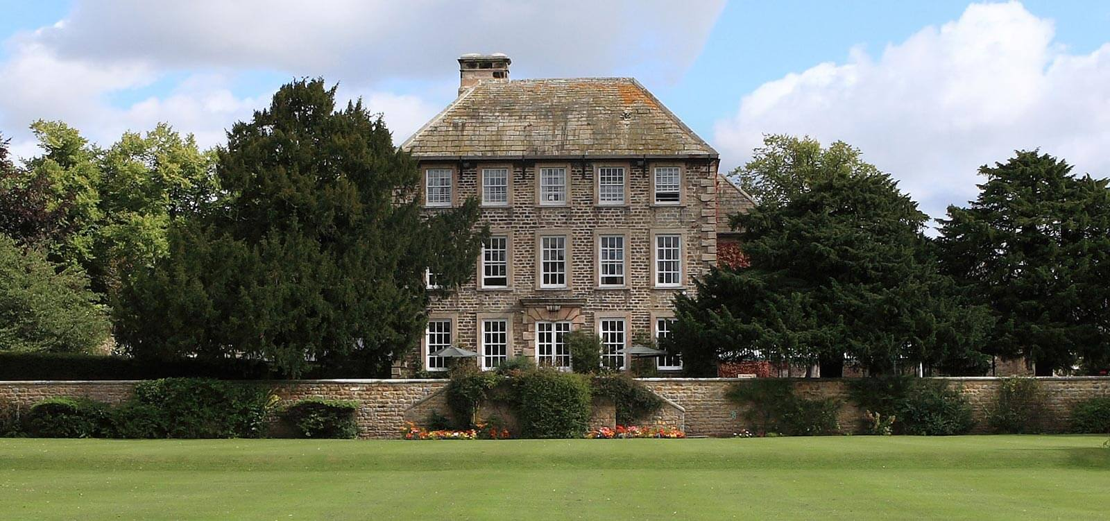 External of Headlam Hall