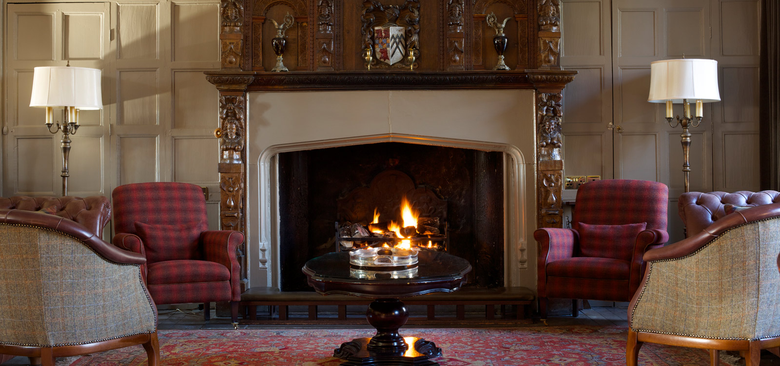 Headlam Hall Lounge