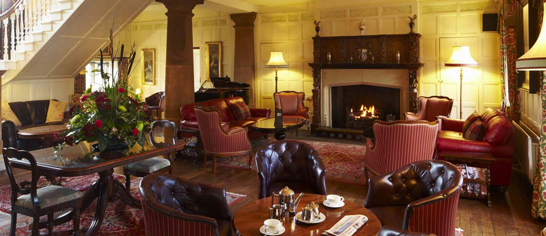Lounge of Headlam Hall